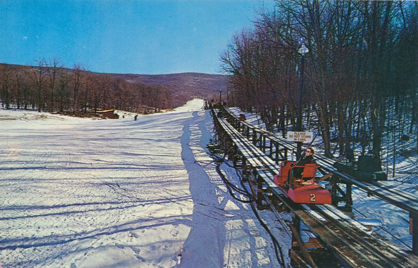 Hot Springs, Virginia - Homestead Resort - Trestle Car Ski Lift