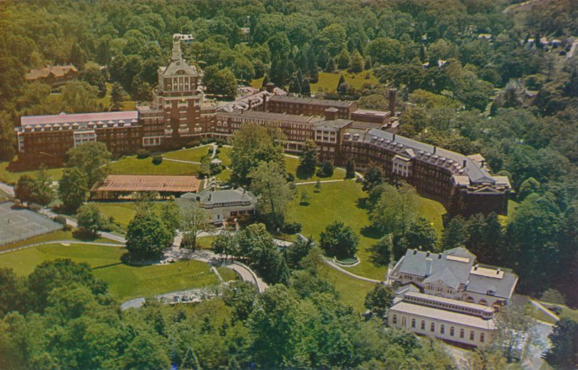 Airview of the Homestead Resort - Hot Springs, Virginia