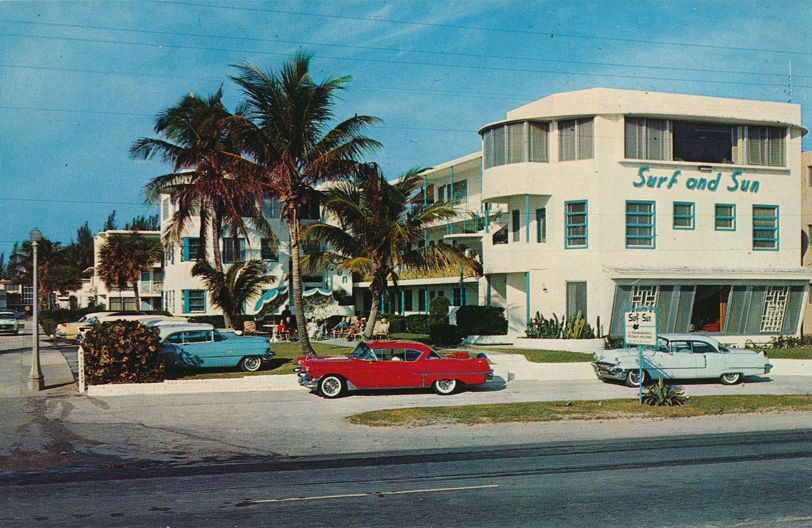 Fort Lauderdale Beach, Florida - Surf and Sun Hotel Apartments