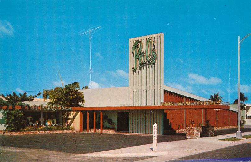 Pompano Beach and Fort Lauderdale Florida - Hank Hagmann's Pal's Restaurant