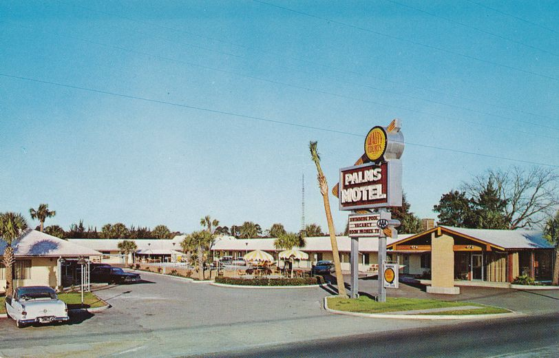 Brunswick, Georgia - The Palms Motel