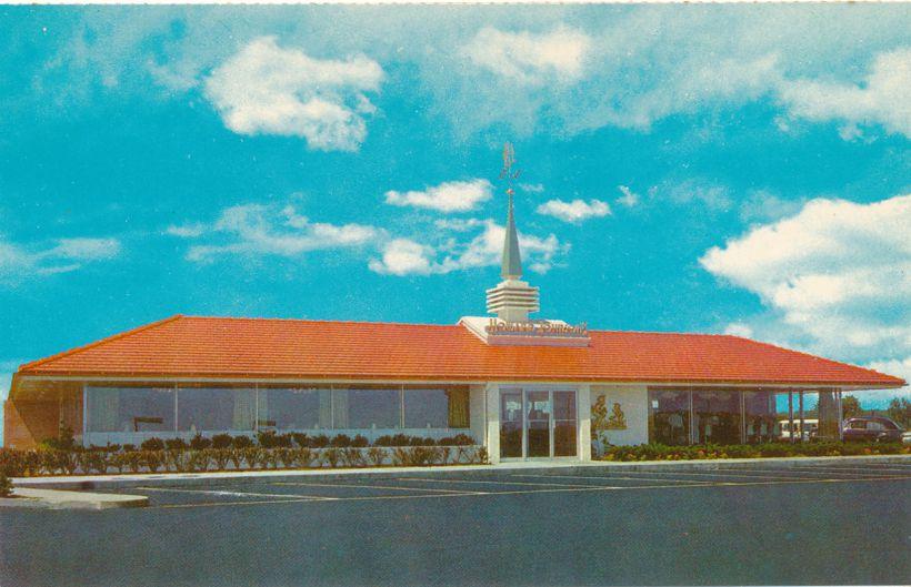 Howard Johnson Motor Lodge Motel Restaurant - Folded with Comment Return Card