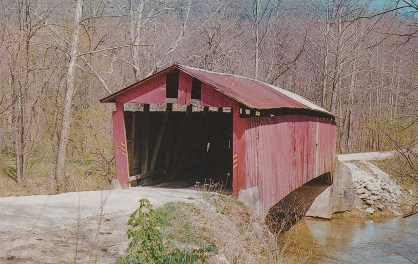 Bainbridge, Indiana - Rolling Stone Covered Bridge