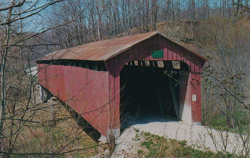 Bainbridge, Putnam County, Indiana - Pine Bluff Covered Bridge