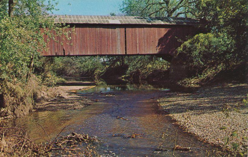 Greencastle, Indiana - Ocala Covered Bridge