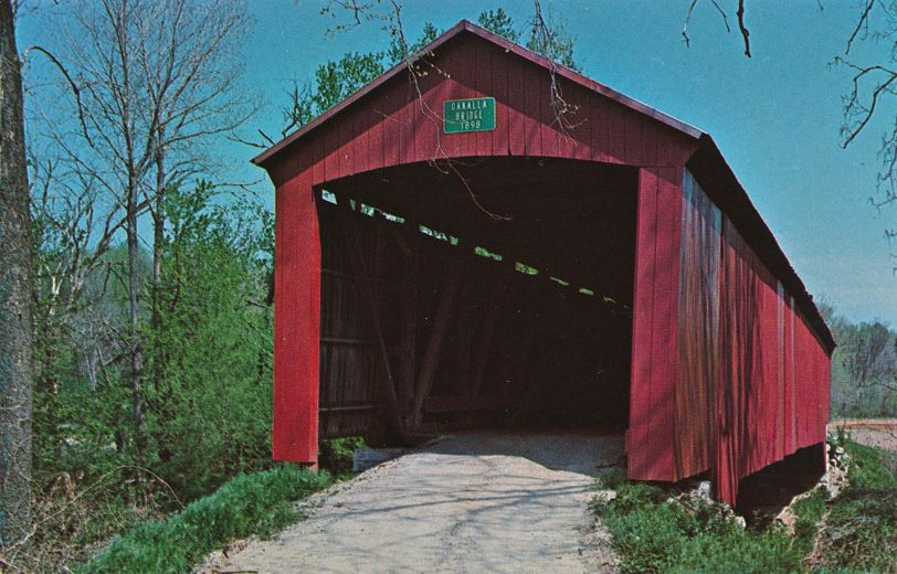 Greencastle, Putnam County, Indiana - Oakalla Covered Bridge