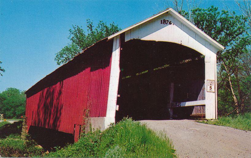 Hillsdale Covered Bridge, Vermillion County, Indiana