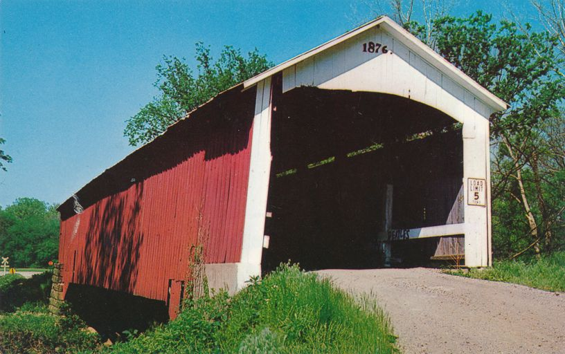 Hillsdale Covered Bridge, Vermillion County, Indiana