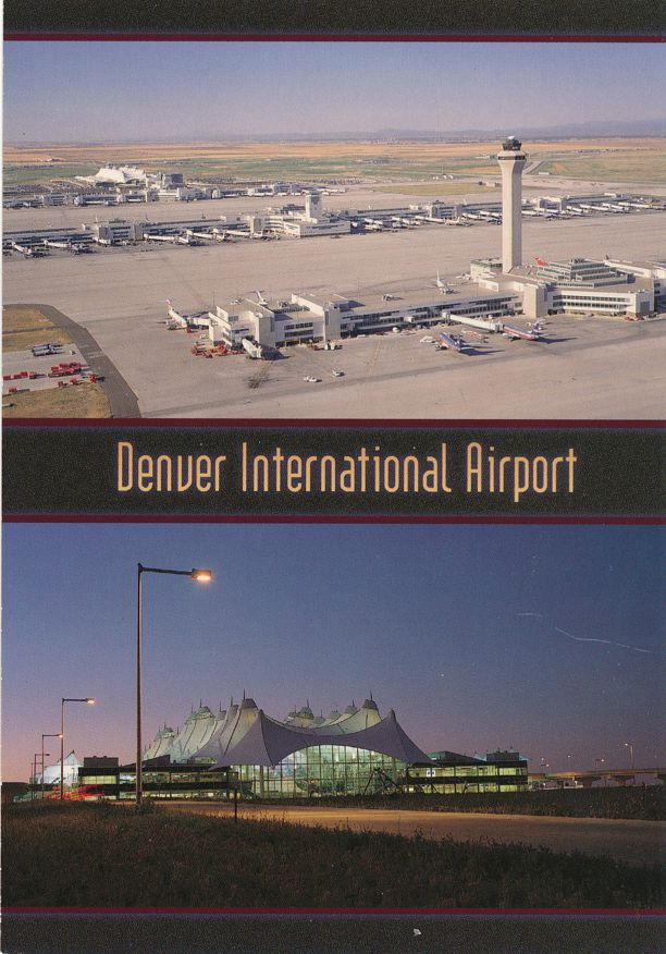 Denver, Colorado - International Airport
