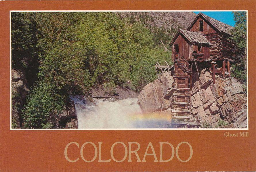 Ghost Mill of Western Colorado - Roadside