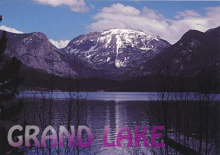 Grand Lake and Mt Craig - Rocky Mountain National Park, Colorado