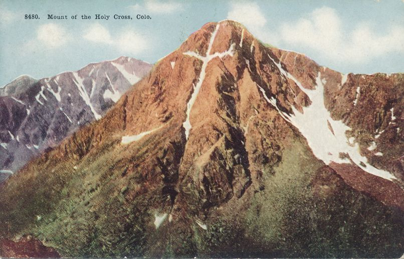 Mount of the Holy Cross - Rocky Mountains, Colorado - Divided Back