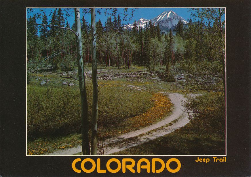 Jeep Trail - Scenic Logging Trails -CO  Colorado