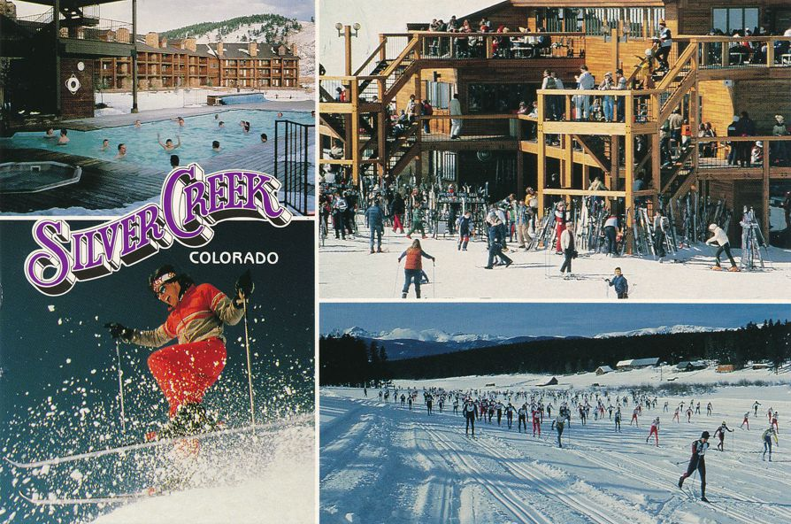 Silver Creek Resort, Colorado - Downhill and Cross Country Skiing