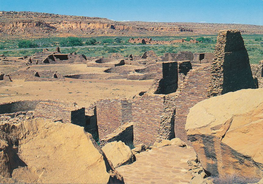 Pueblo Bonito, New Mexico - Chaco Culture National Historical Park