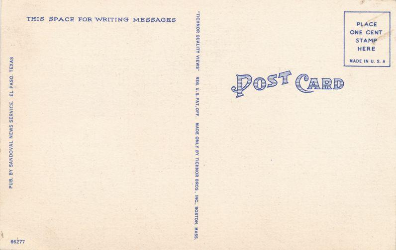 Four Horsemen - Saguaro Cactus in Southwest USA - Linen Card