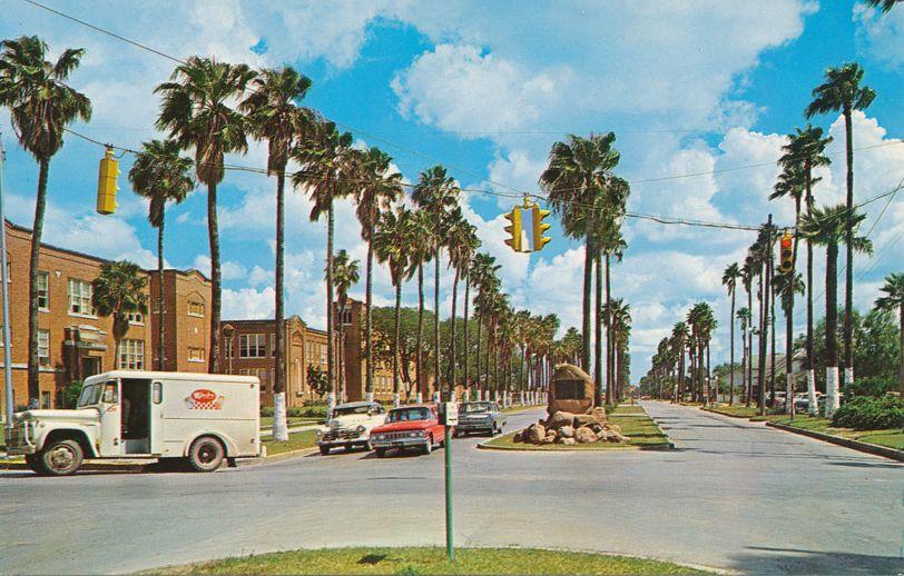 Brownsville, Texas - Palm Boulevard at Senior High School