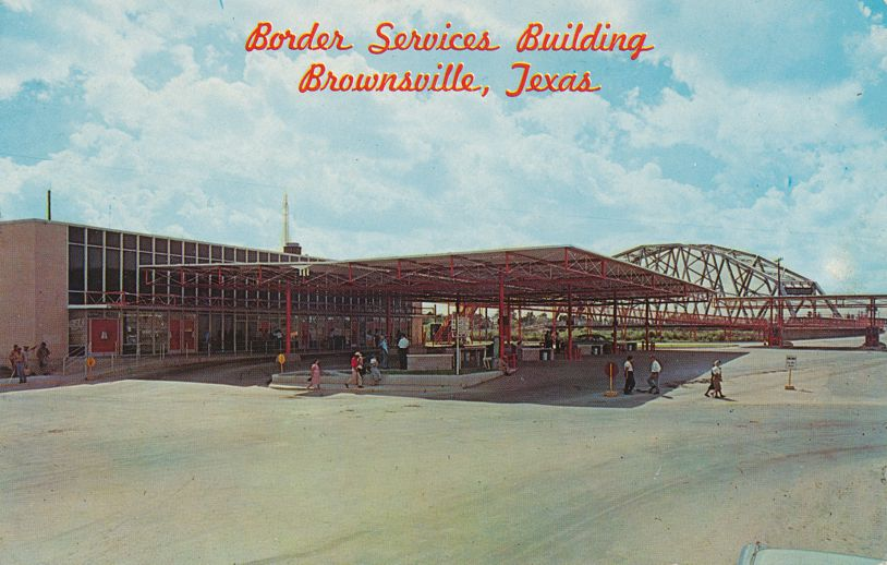 Brownsville, Texas - Border Services Building - pm 1967