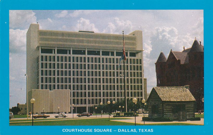 Dallas, Texas - Kennedy Memorial at Courthouse Square