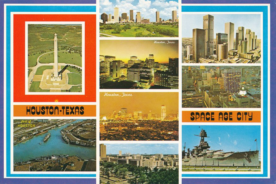 Houston, Texas - Space Age City - Multiview