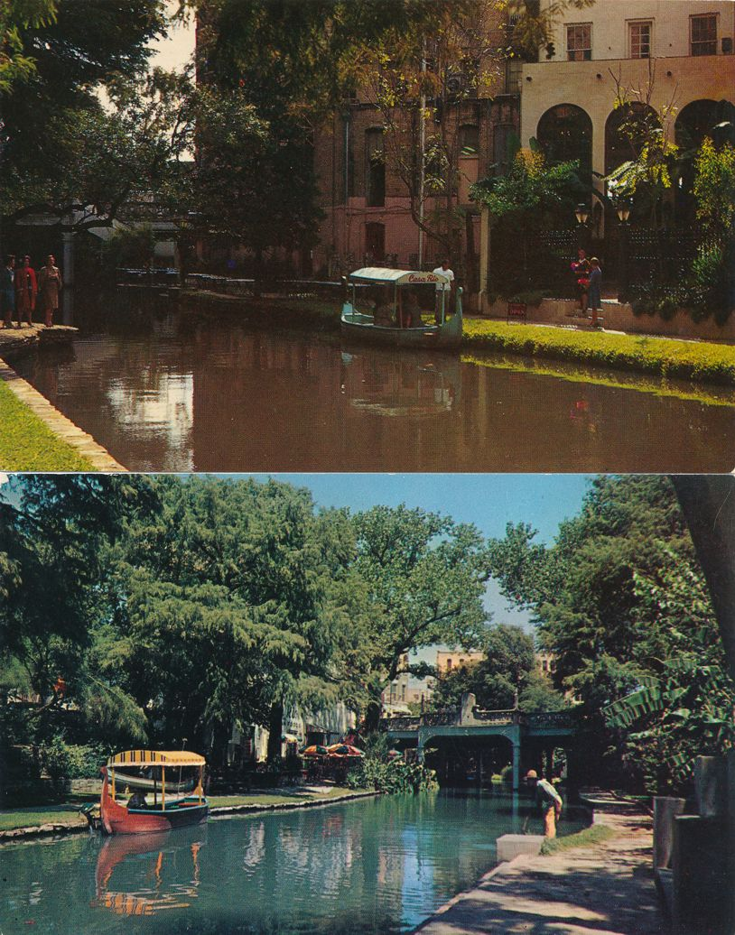 San Antonio, Texas - San Antonio River - Venice of Texas