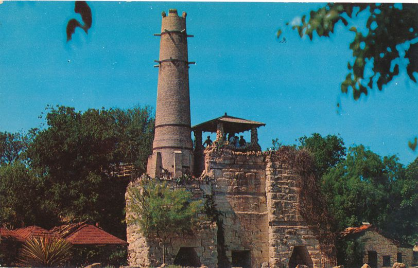San Antonio, Texas - Cement Plant Tower at Brackenridge Park