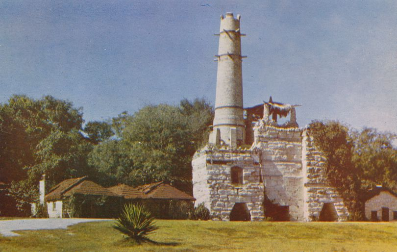 San Antonio, Texas Landmark - Tower of Portland Cement Plant