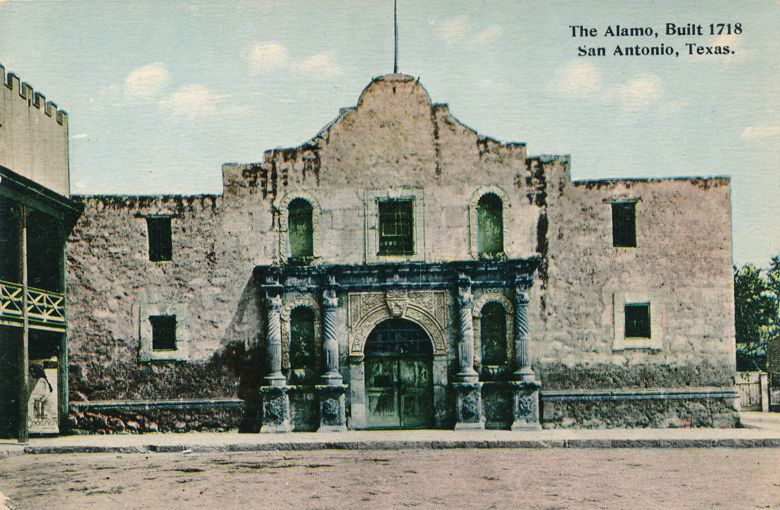 San Antonio, Texas - The Alsmo Build in 1718 - Pub by Budow - Divided Back