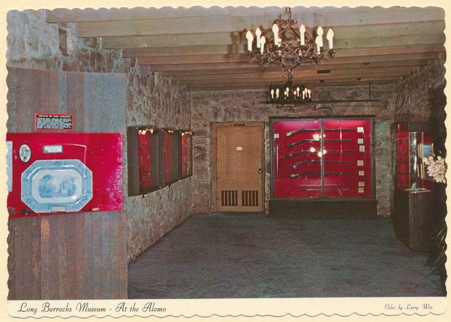 San Antonio, Texas - Long Barracks Musesum - At The Alamo