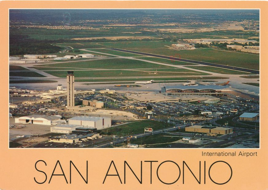 San Antonio, Texas - International Airport - pm 1989 at Austin TX