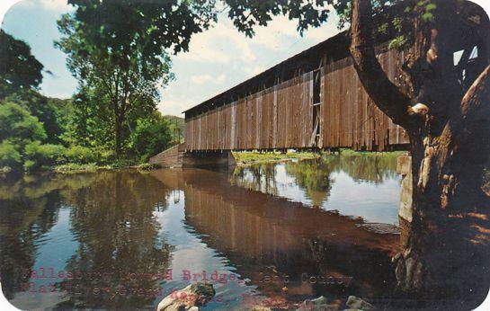 Grand Rapids, Michigan - Fallasburg Covered Bridge over Flat River