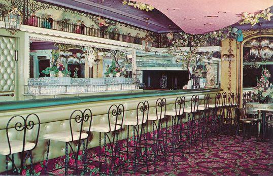 Crescent Beach Hotel, Rochester, New York - Bar Area