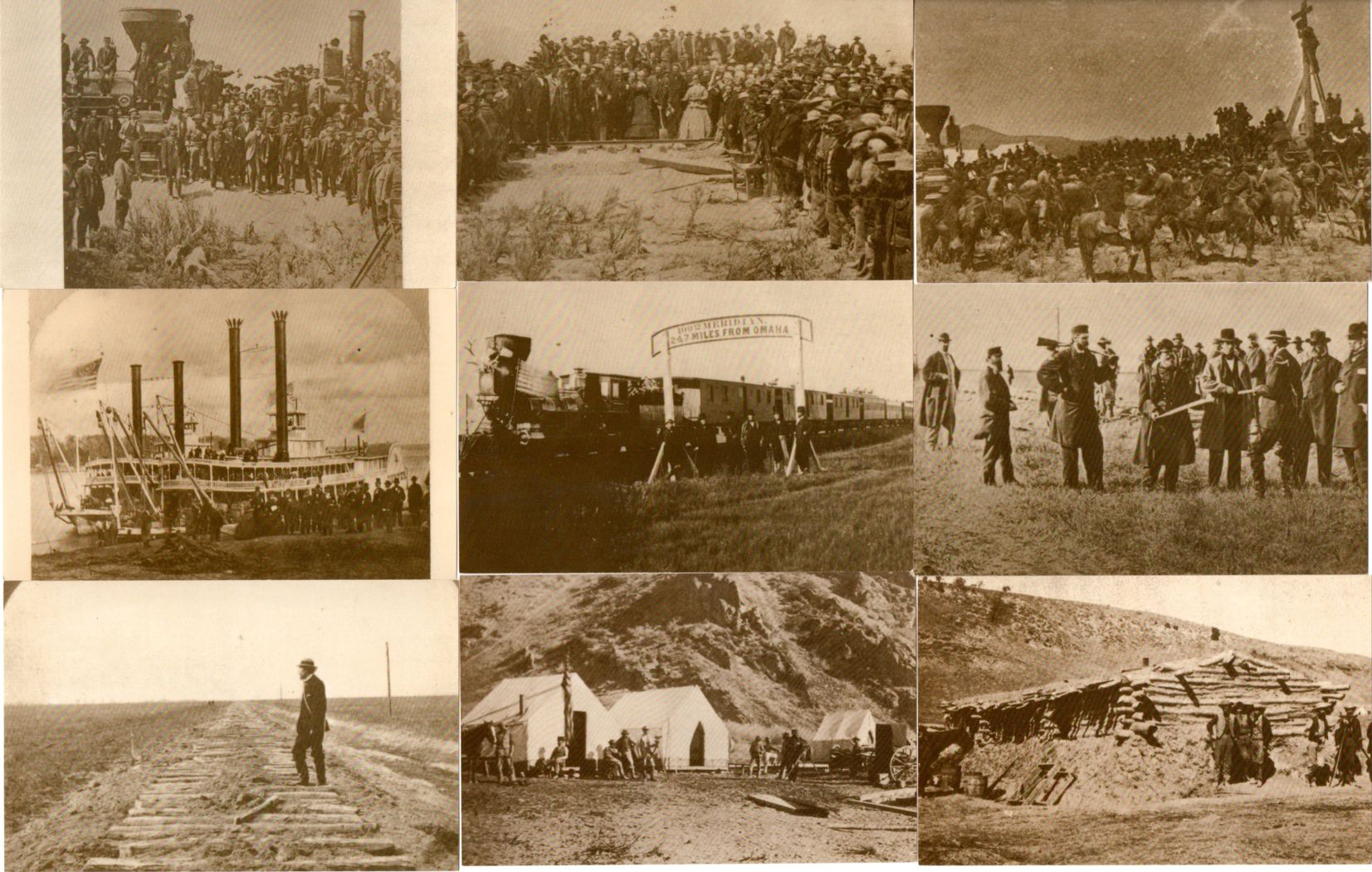 (50 cards) Railway Train History by Master Photographers - Complete Set of 50
