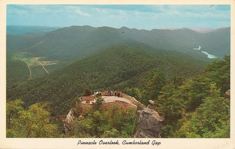 Pinnacle Overlook in Cumberland Gap Historical Park near Middlesboro, Kentucky