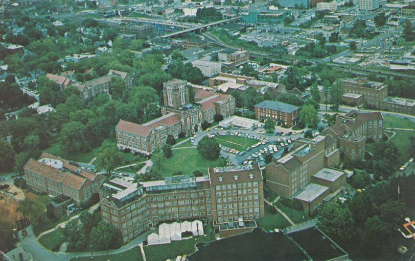 Knoxville, Tennessee - Aerial View of University of Tennessee - pm 1979 at Chicago IL