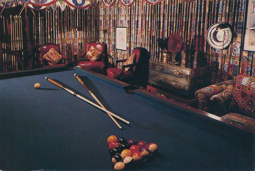 Memphis, Tennessee - Elvis Pool Table at Graceland