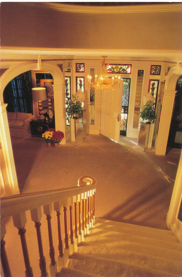 Memphis, Tennessee - Entrance Hall at Graceland Home of Elvis Presley