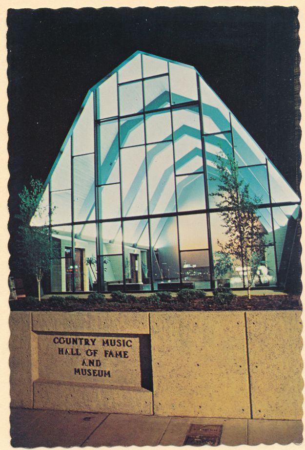Nashville, Tennessee - Country Music Hall of Fame