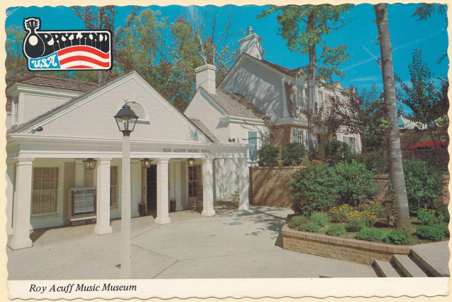 Nashville, Tennessee - The Roy Acuff Music Museum
