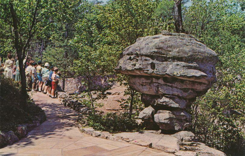 Rock City Gardens, Tennessee - Mushroom Rock on Lookout Mountain