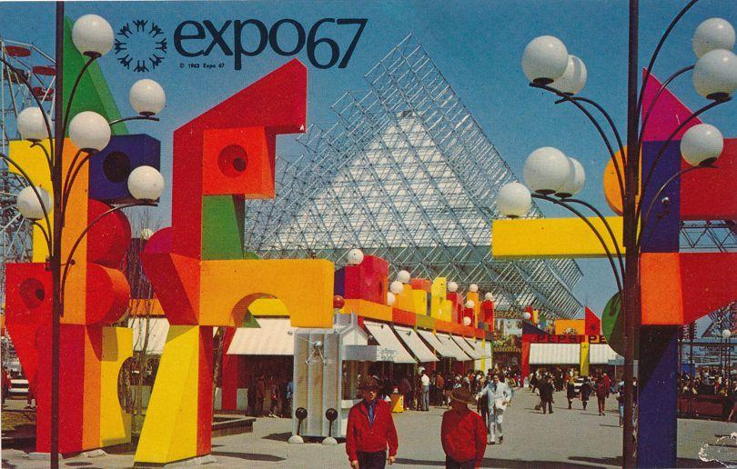 Expo67 - Montreal, Quebec, Canada - World Fair 1967 - La Ronde Amusement Park