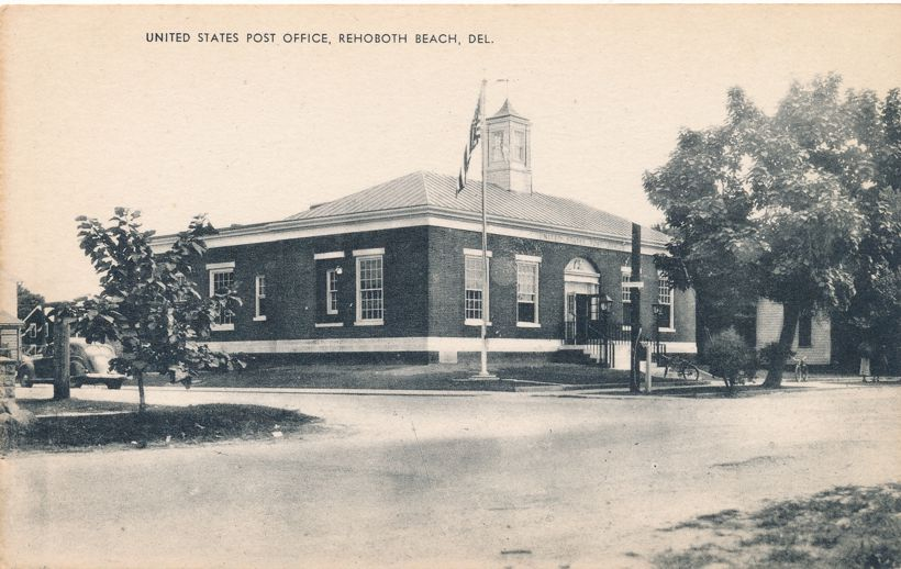 Rehoboth Beach, Delaware - United States Post Office