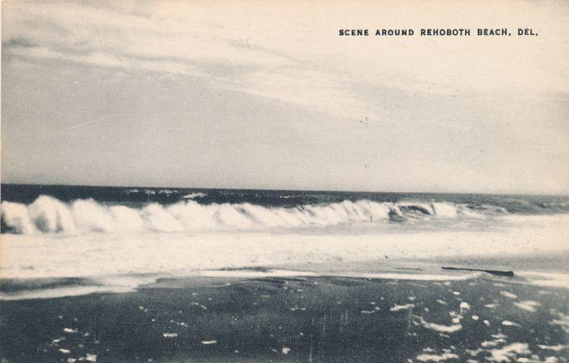 Rehoboth Beach, Delaware - Beach and Surf Scene