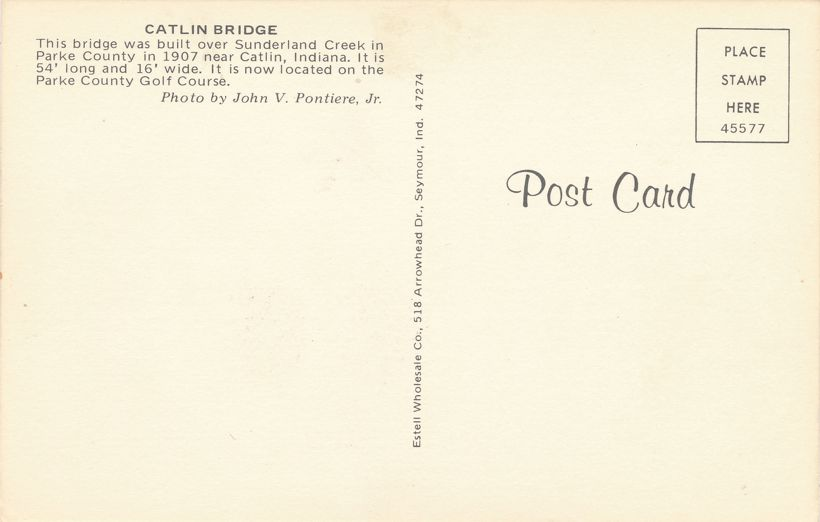 Rockville, Indiana - Parke County Golf Course - Caitlin Covered Bridge