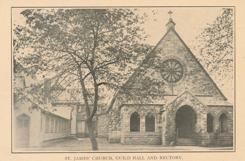 St. James Church, Guild Hall and Rectory - Location not determined
