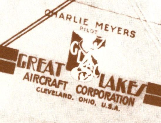 Great Lakes Aircraft Corporation - Cleveland Ohio - Pilot Meyers - Aviation
