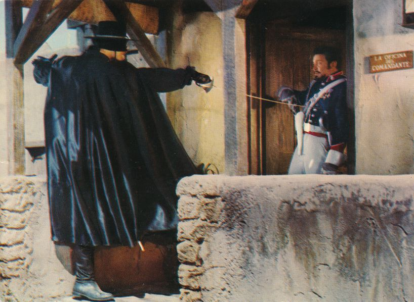 Zorro - Masked Avenger - TV and Movie series - Walt Disney Productions
