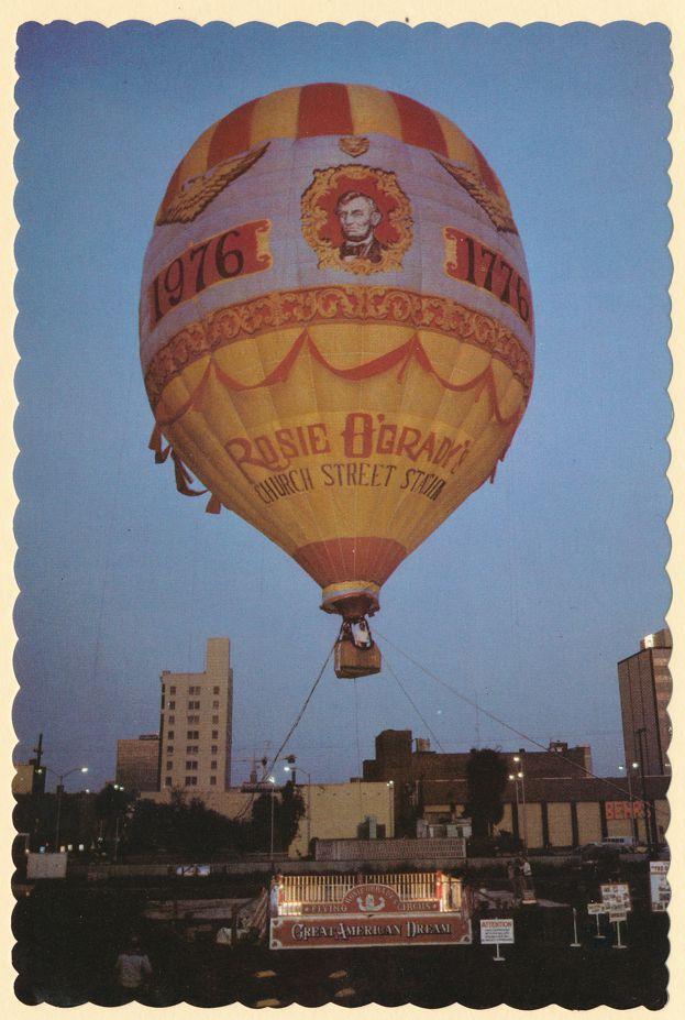 Orlando, Florida - Great American Dream - Hot Air Balloon at Rosie O'Grady's