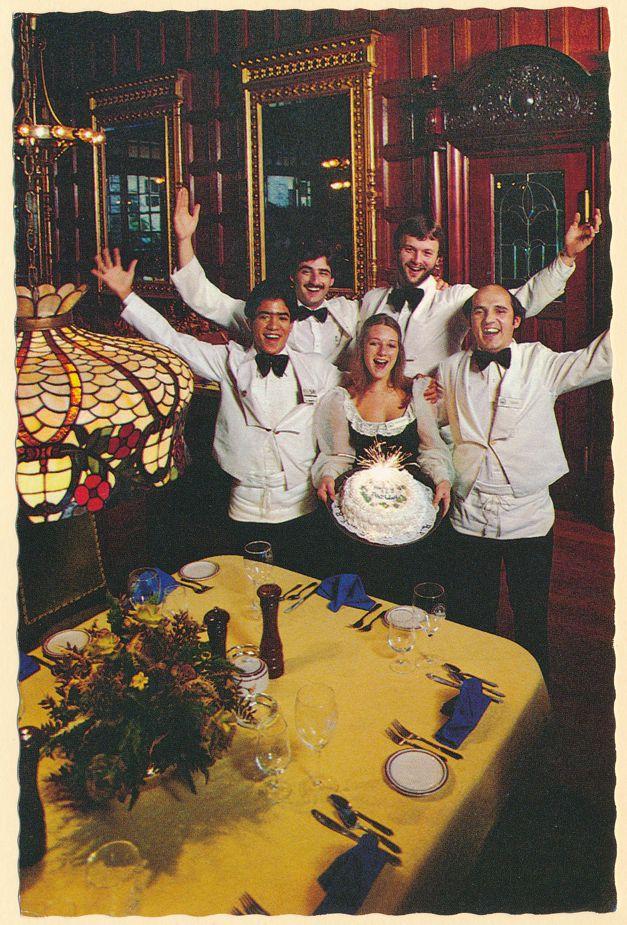 Orlando, Florida - Happy Birthday - Lili Marlene's Aviators Pub and Restaurant
