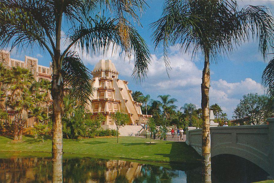 Orlando, Florida - Disney Epcot Center - Pyramid at Mexico Showcase